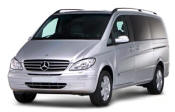 Chauffeur driven Mercedes Viano people carrier - Up to 7 passengers in comfort, from Cars for Stars (Wolverhampton) - Airport Transfer Services